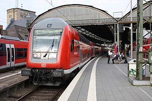 NRW-Express - Control car in Aachen Hbf