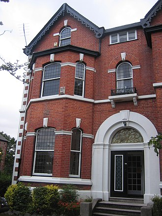 Factory Records - The first Factory Records office, 86 Palatine Road in West Didsbury, Manchester.