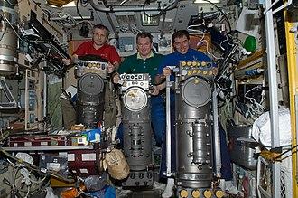 ISS ECLSS - Elektron units in the Zvezda service module.
