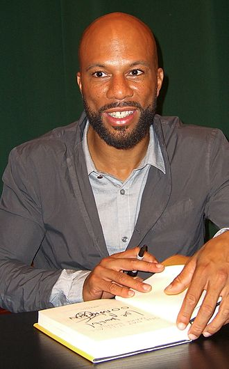 Common (rapper) - Common at a signing for his book One Day It'll All Make Sense in Tribeca, Manhattan, in 2011