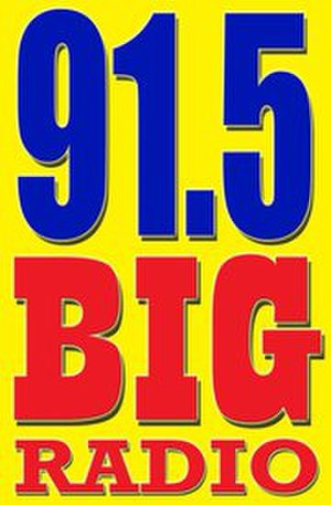 DWKY - 91.5 Big Radio logo (June 1, 2011-June 26, 2014)