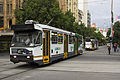 A1 241 and Z3 202 (Melbourne trams) in Swanston St, December 2013.JPG