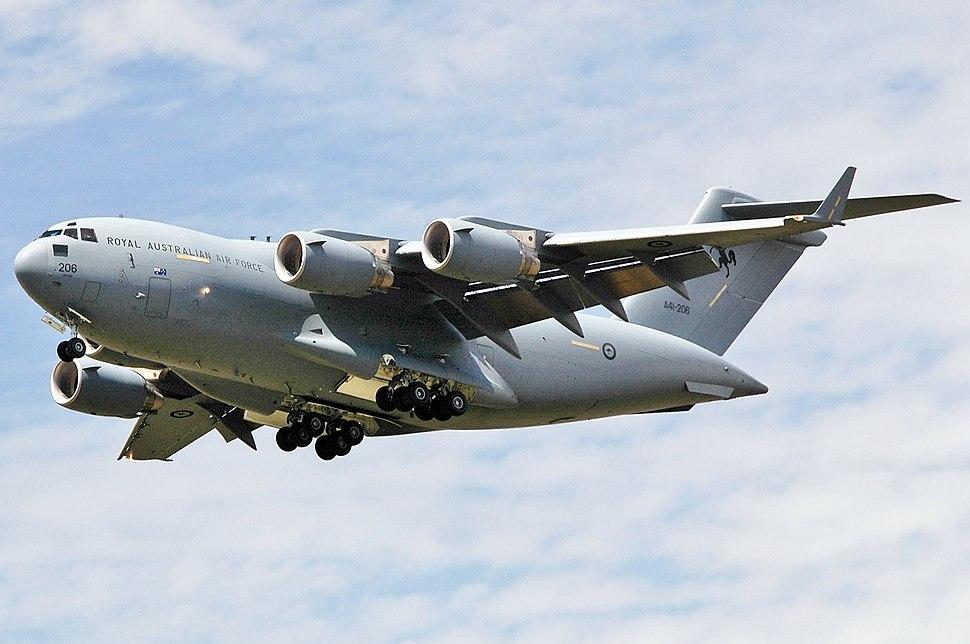 A41-206 Boeing C-17A Globemaster III RAAF (9639221235)