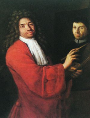 Antonio Cifrondi - Self Portrait