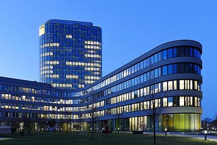 The main office complex of the ADAC in Munich