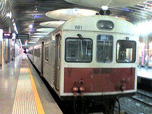 ADK/ADB class diesel multiple unit - Image: ADK 681 at Britomart