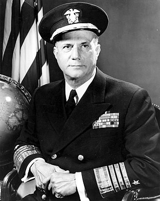 Jerauld Wright - Official Portrait of Admiral Jerauld Wright, United States Navy