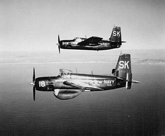 Grumman AF Guardian - Hunter-Killer team of AF-2W (lower) and AF-2S