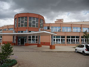 This is ALMC Hospital in Arusha. This hospital...