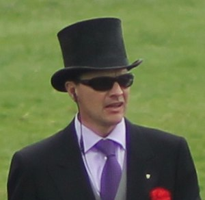 Aidan O'Brien - Aidan O'Brien before the start of the 2012 Epsom Derby.