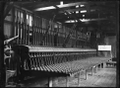 A 63 Lever interlocking frame for Invercargill railway signal station, in the Petone Railway Workshops ATLIB 273519.png