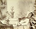 A Burmese Girl Watts and Skeen, Burma Albumen print 1890.jpg