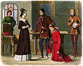 A Chronicle of England - Page 417 - The Earl of Warwick Submits to Queen Margaret.jpg