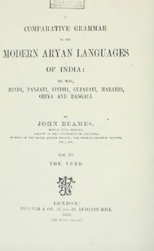 A Comparative Grammar of the Modern Aryan Languages of India Vol 3.djvu