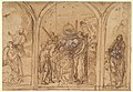 A Design for a Triptych with the Adoration of the Two Saints MET DP827686.jpg