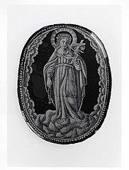 A Female Saint (possibly Rosalia)