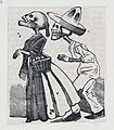 A male skeleton walking behind a female skeleton (vignette for the feast of the dead) MET DP867978.jpg