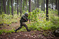 A soldier with the Indian Army's 99th Mountain Brigade closes with opposing forces during a training mission with paratroopers of the 82nd Airborne Division's 1st Brigade Combat Team in 2013.jpg