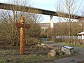 A totem pole in the Saltings - geograph.org.uk - 912726.jpg