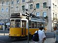 A tram in Lisbon.JPG