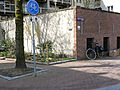 A view on the passageway under Entrepotdok, Amsterdam center, Spring 2013.jpg