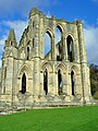 A wall in Rievaulx Abbey - geograph.org.uk - 840932.jpg