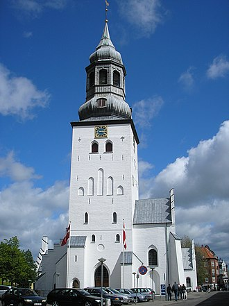 Diocese of Aalborg - The Cathedral of the diocese.