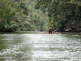 Balilihan, Bohol - Image: Abatan near balilihan