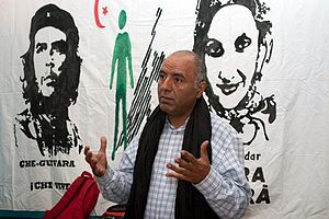 Association of the Families of Sahrawi Prisoners and Disappeared - Abdeslam Omar Lahcen, president of AFAPREDESA