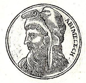 Abimelech (Judges) - Abimelech from Guillaume Rouillé's Promptuarii Iconum Insigniorum