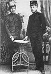 Abiturients of Gymnasium in Sanok 1912, Jerzy Pajączkowski and Jan Kosina.JPG