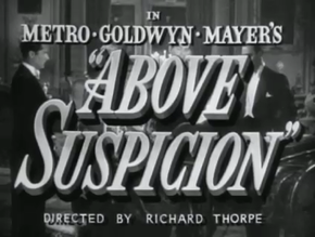 Description de l'image Above Suspicion (1943).png.