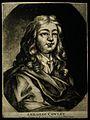 Abraham Cowley. Mezzotint. Wellcome V0001333.jpg