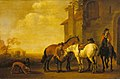 Abraham van Calraet - Halt at an Inn WLC WLC P228.jpg