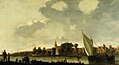 Abraham van Calraet - View of a River Town NTIV PET 25840.jpg