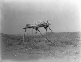 Absarokee, Montana - Absorakee burial