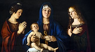 Madonna and the Child between Saints Catherine and Mary Magdalene