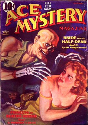 Charles Marquis Warren - At the beginning of his film career, Warren also wrote stories for pulp magazines like Ace Mystery