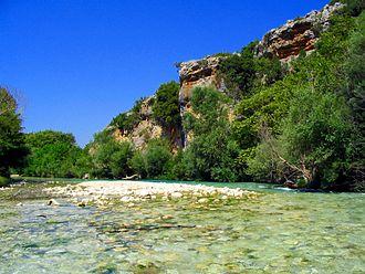 Thesprotia - Acheron river