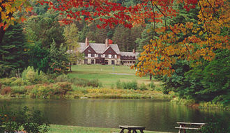 Allegany State Park - The Administration Building in Red House