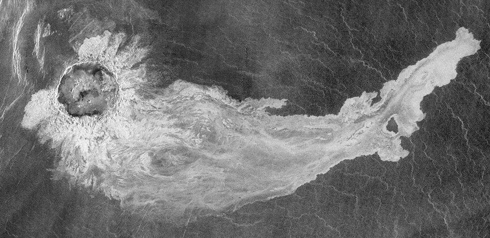 Addams crater on Venus