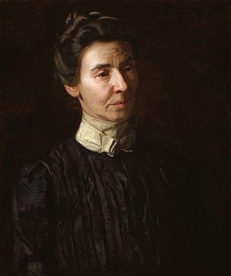 Portrait of Mary Adeline Williams - Thomas Eakins. Portrait of Mary Adeline Williams. Oil on canvas, 1899. 61 x 50.8 cm. Art Institute of Chicago.