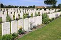 Adinkerke Military Cemetery. Britse graven.jpg