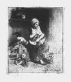Adolphe Hervier L'éplucheuse de volailles.png