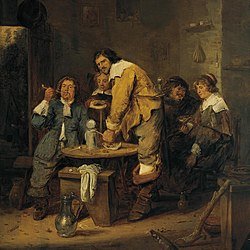 Adriaen Brouwer: The Tobacco Inn