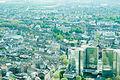 Aerial view of Düsseldorf, seen from Rheinturm, Western Germany, Western Europe. May 6, 2013.jpg