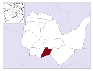 Mussahi District District in Kabul Province, Afghanistan