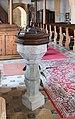 Afritz Pfarrkirche hl Nikolaus Taufbecken 31072015 6360.jpg