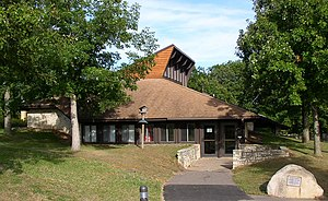 Afton State Park - Afton State Park's visitor center