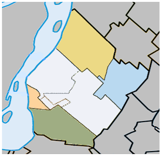 Urban agglomeration of Longueuil - Image: Agglomeration Longueuil